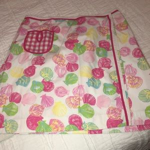 Lily Pulitzer wrap skirt